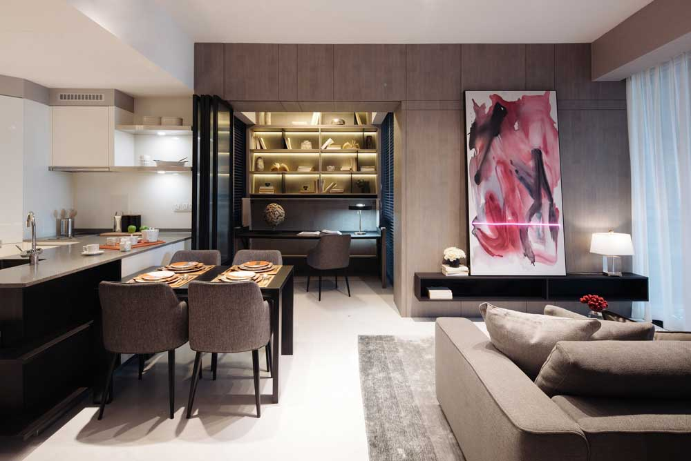 marina-one-residences-dining-and-living-space