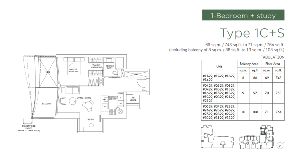 marina-one-residences-floor-plan-1-bedroom-study-type-1Cs