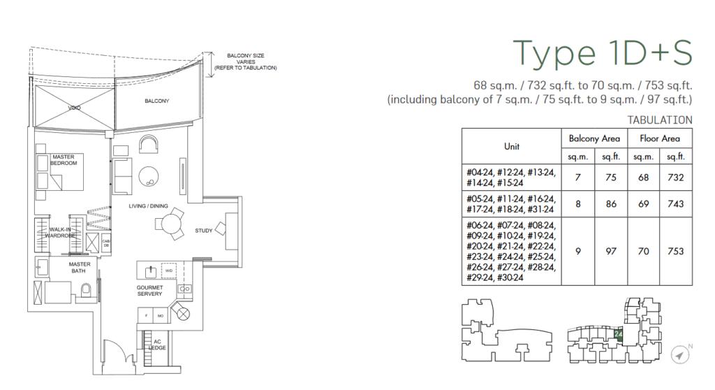 marina-one-residences-floor-plan-1-bedroom-study-type-1Ds