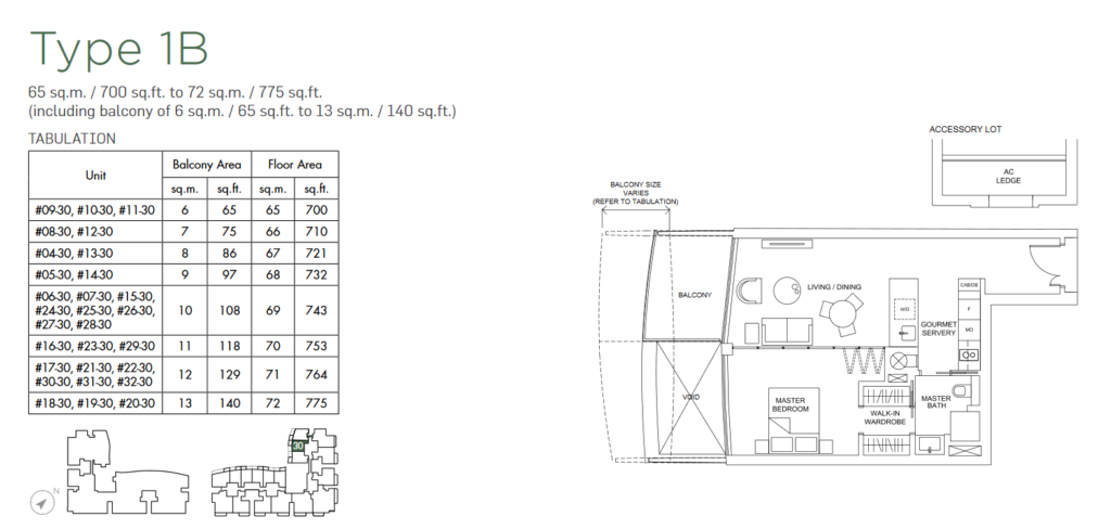 marina-one-residences-floor-plan-1-bedroom-type-1b