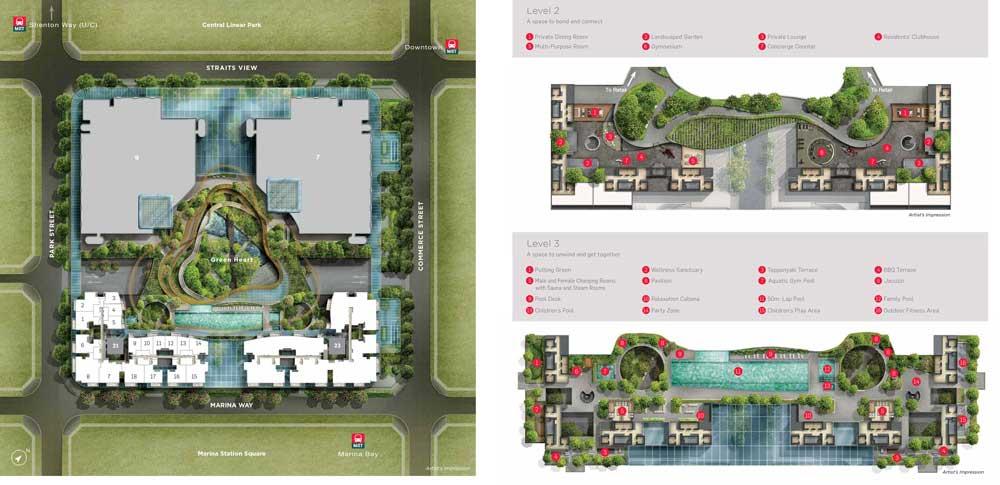 marina-one-residences-site-plan